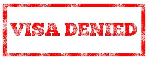 Canada visa denied
