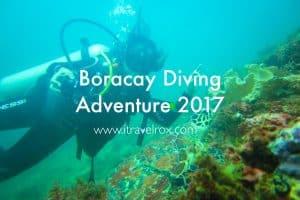Boracay Diving Adventure 2017