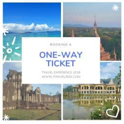 booking a one-way ticket travel experience