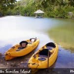 Kayaking and Lunch Time in Sumilon Island