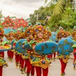 Dagitab Festival Street Dancing in City of Naga, Cebu