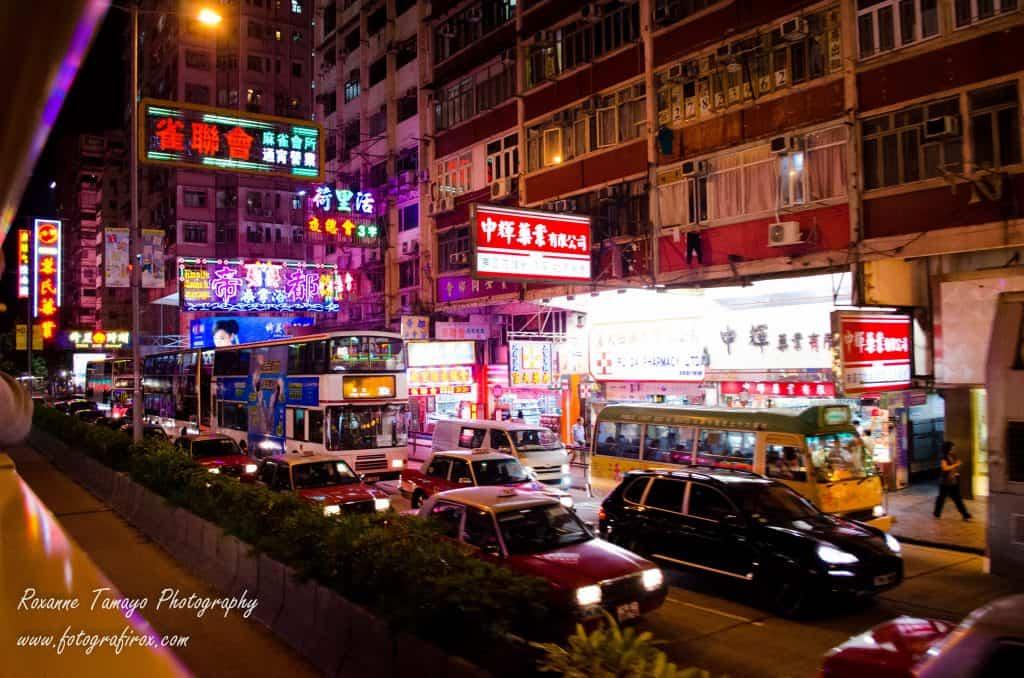 Night Street Photography around Kowloon Island