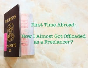 how I almost got offloaded as a freelancer