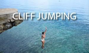 cliff jumping - i travel rox