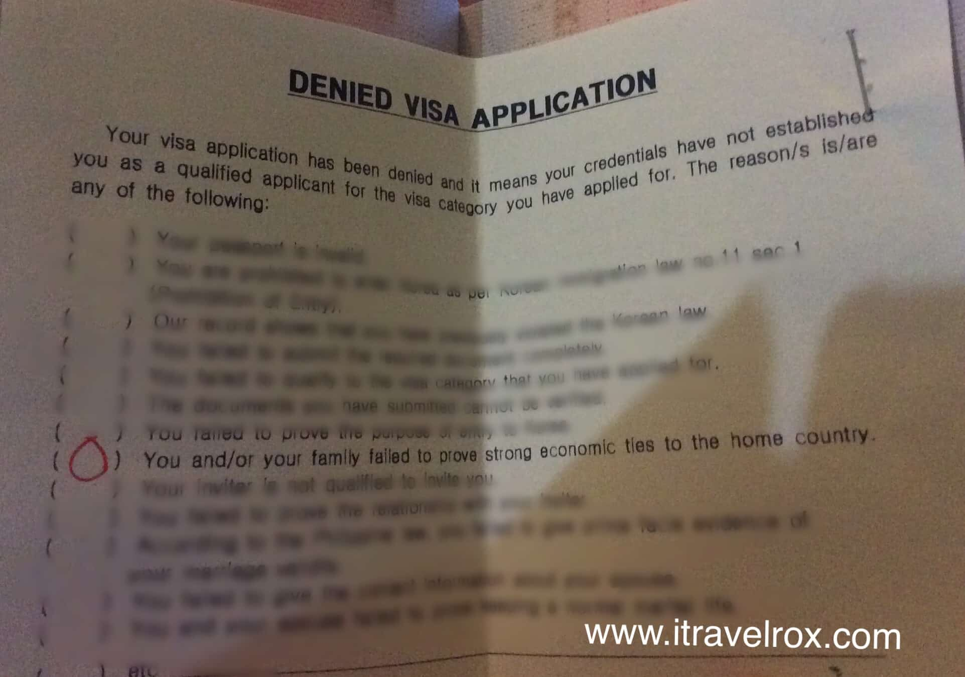 South Korean Visa Denial Story It S Heartbreaking But Time To Move On