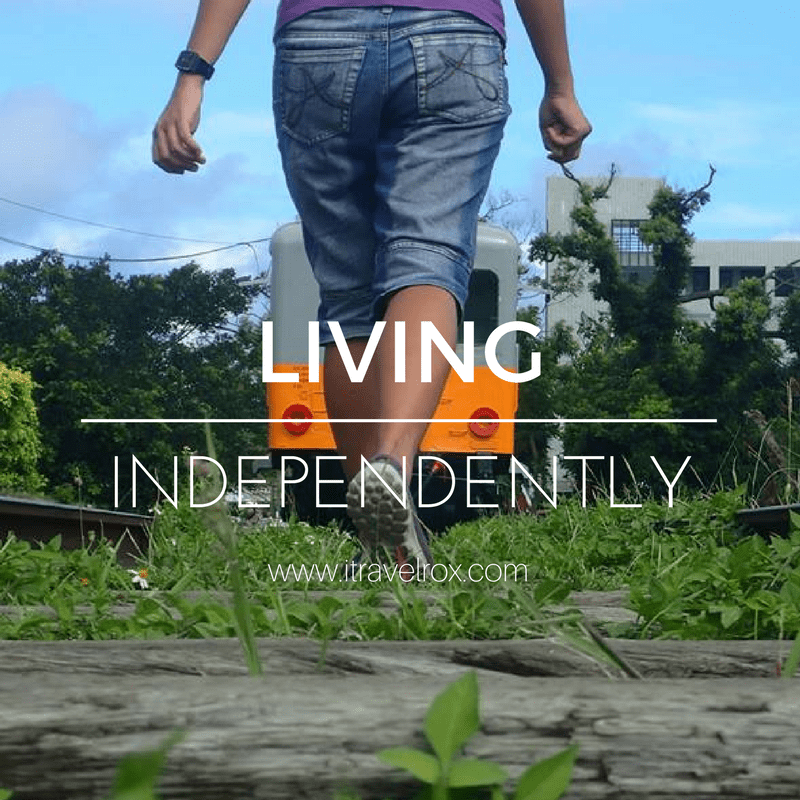 living independently