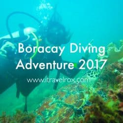 Boracay Diving Adventure 2017