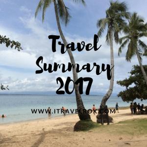 travel summary 2017