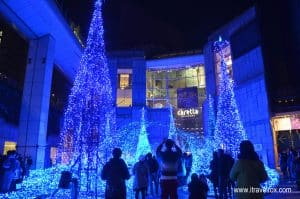carretta shiodome winter illumination