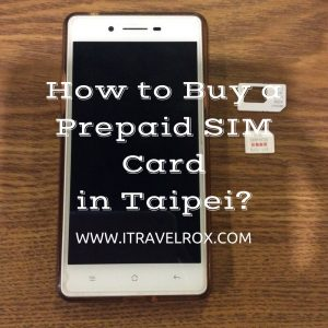 how to buy a prepaid sim card in taipei