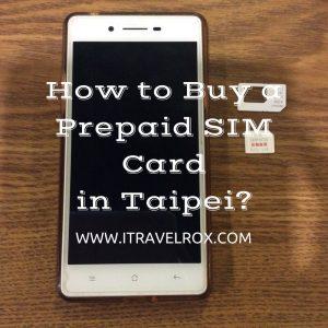 how to buy a prepaid sim card in taipei