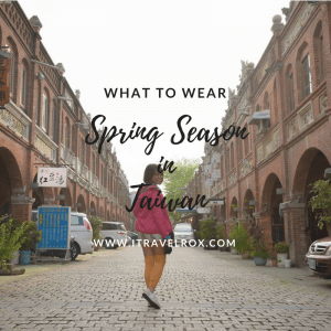 what to wear spring season in taiwan