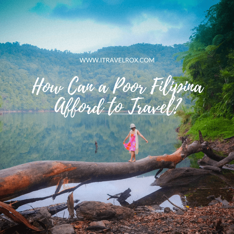 how can a poor filipina afford to travel