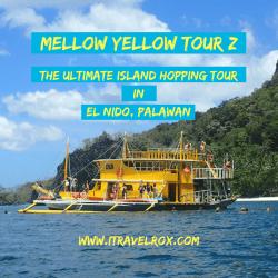 mellow yellow tour z island hopping el nido palawan