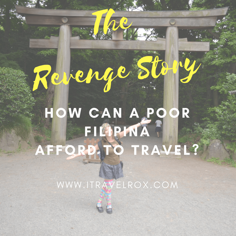 the revenge story how can a poor filipina afford to travel