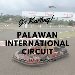 go karting palawan international circuit