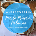 List of Where to Eat in Puerto Princesa, Palawan