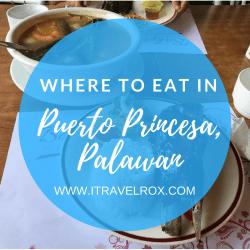 list of where to eat in puerto princesa palawan