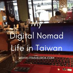 my digital nomad life in taiwan
