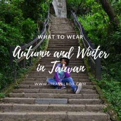 what to wear autumn and winter in taiwan