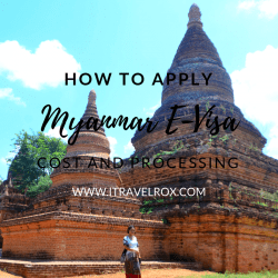 how to apply myanmar e-visa cost and processing