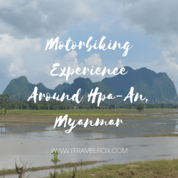 motorbiking experience around hpaan myanmar
