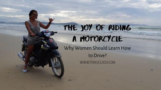 the joy of riding a motorcycle