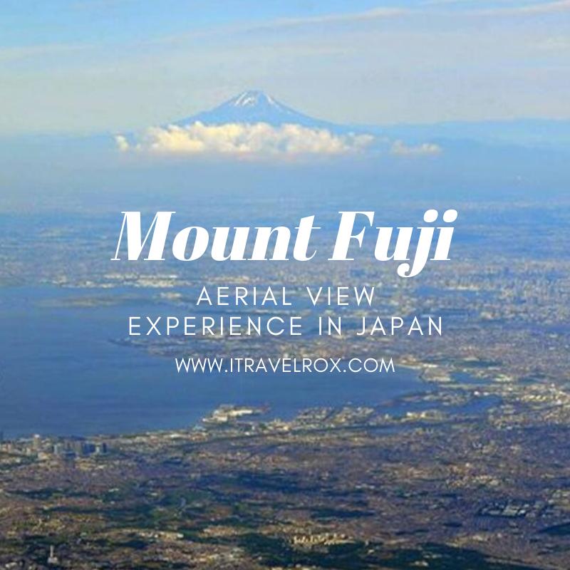 mount fuji aerial view experience in japan