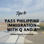Tips to Pass Philippine Immigration with Q and A