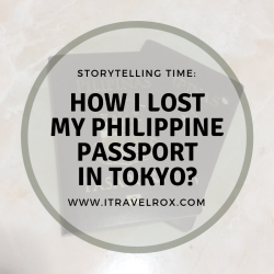 how i lost my philippine passport in tokyo