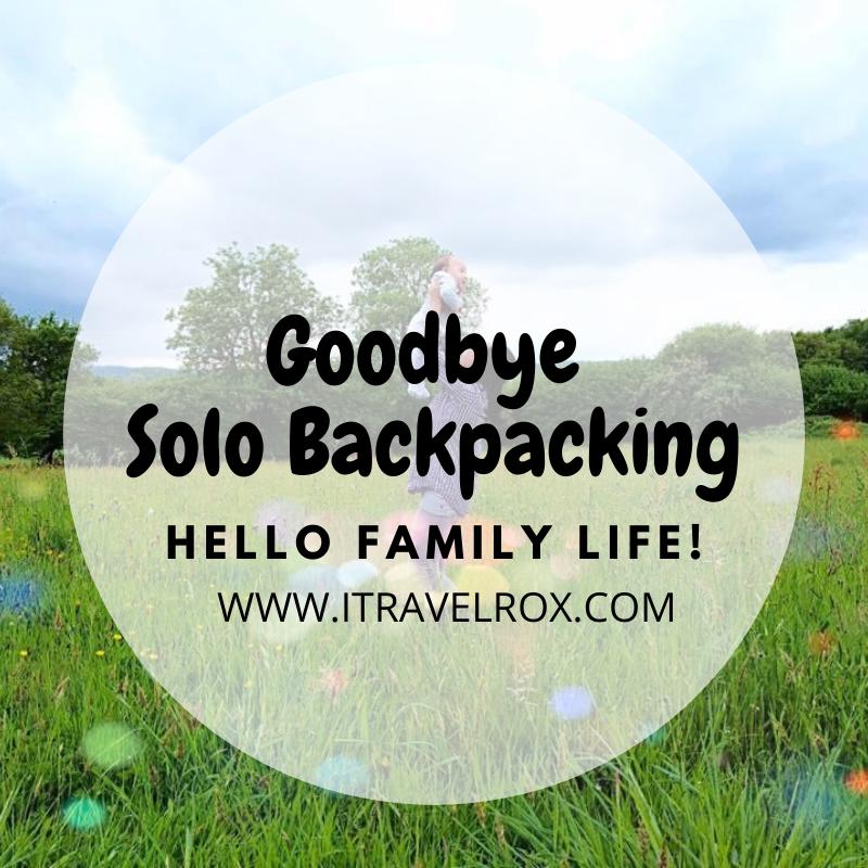 goodbye solo backpacking