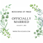 Officially Married in France and Parents of Two Kids